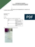 Laboratorio 7 Deteccion de Intermediarios en Fermentacion Alcoholica Por Levaduras