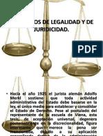 Legalidad y Juridicidad