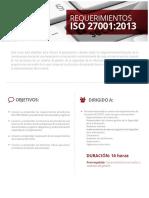 REQUERIMIENTOS ISO 27001:2013