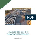 CALCULO TEORICO DE GASODUCTOS DE BOLIVIA (OFICIAL).docx