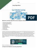 Advantages Drawbacks Application of TOP 10 Algorithms