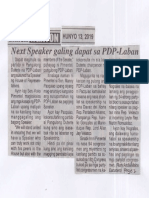 Ngayon, June 13, 2019, Next Speaker galing dapat sa PDP-Laban.pdf