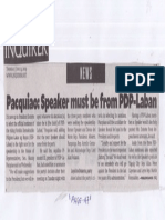Philippine Daily Inquirer, June 13, 2019, Pacquiao Speaker must be from PDP-Laban.pdf