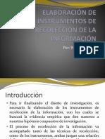 Módulo IV Elaboración de Instrumentos de Investigación (2)