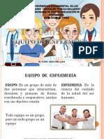 Diapositiva de Equipos de Enfermeria