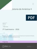 Uba Ffyl p 2016 His Historia de América II