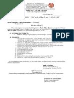 Complaint Sheet Alvin Zapanta y Celis