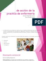 Campos de Acción de La Practica de Enfermería