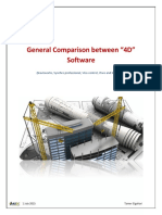 Comparison Between BIM 4D Software
