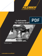 Kluber Lubricants for Valves and Fittings