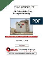 TORs- Traffic Safety & Parking, Management Study