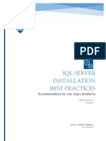 Stages SQL Server Best-practices v1dot2