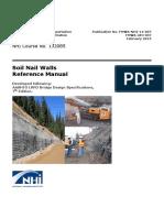 Soil Nail Manual