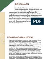 Alat Perencanaan Dan Penganggaran Modal