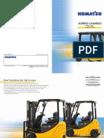 Komatsu Electric Forklift Catalogue (FB15-12)