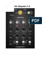AtomoSynth IAbyssal User Manual 1