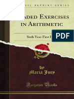 Graded Exercises in Arithmetic_ Sixth Year - Maria Jury