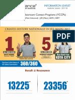 Resonance Information Leaflet 2017-18