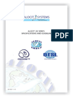 Alocit-Specifications Guidelines