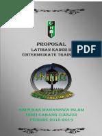 Proposal Lk II Cabang Cianjur Tahun 2019 Fix