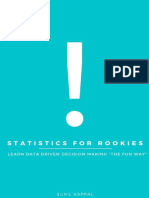 Statistics for Rookies