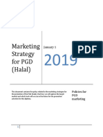 Marketing Strategy Report on HRC - DLP