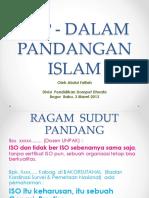 Iso Dalam Pandangan Islam