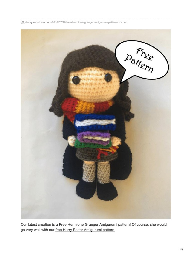 Crochet a Harry Potter Amigurumi Designed By Mariana Chaves ... | 1024x768