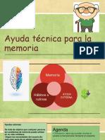 ayuda técnica para la memoria