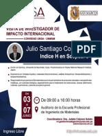JulioSantiago-SCOPUS H9_Investigador UNMSM