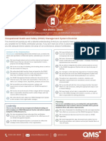 Product Checklist - IsO 45001
