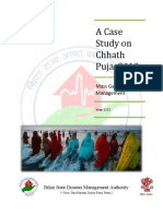 Chhath Puja Case Study