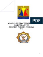 Manual de Procedimientos INvestigativos 2011