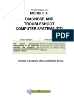 ICT 9 Mod 4_ Diagnose and Troubleshoot Computer Systems