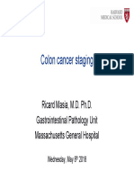 01 Colon Cancer Staging Dr Masia