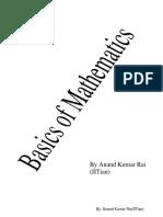 Basics of Mathematics