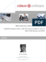 Sap Plm User Interface Intuitive and Flexible