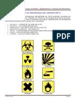 Química Para Vestibular Equipamentos e Vidrarias de Laboratório SIMBOLOS de SEGURANÇA EM LABORATÓRIO