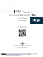Total Preventive (Productive) Maintenance. Vol-4. Español