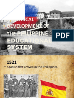 Philippine History of Education