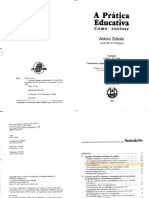 ZABALA1998 - Prática Educativa - Capítulos 1 e 2-Trechos
