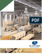 Especificação de tubos e tipos plastubos