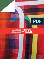 Asian institute of design Brochure