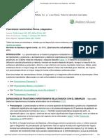 Preeclampsia Características Clínicas y Diagnóstico