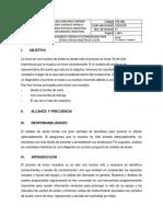 PROCEDIMIENTO OPERATIVO ESTANDARIZADO PARA EXTRACCIÓN DE MUESTRA DE ACEITE
