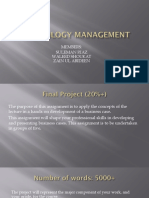 Final Project Technology Management