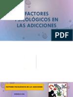 Factores Psicològicos en Las Adicciones