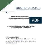 Articulo Terapia Celular-consulta Al Experto Mayo 2011