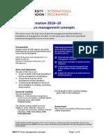 Core Management Concepts