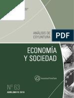 ECONOMIA Y SOCIEDAD - N 63 - ABRIL MAYO 2019 - PARAGUAY - PORTALGUARANI